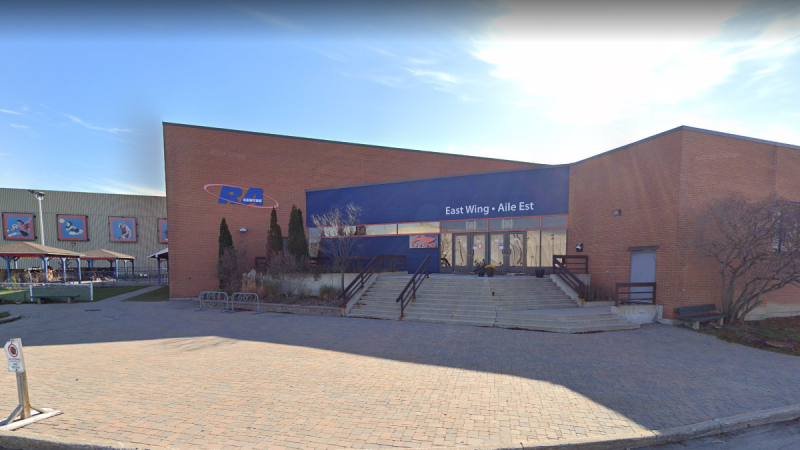 """The RA Centre says it's made the """"heart-wrenching"""" decision to shutdown its ice hockey rink. (Photo courtesy: Google maps)"""