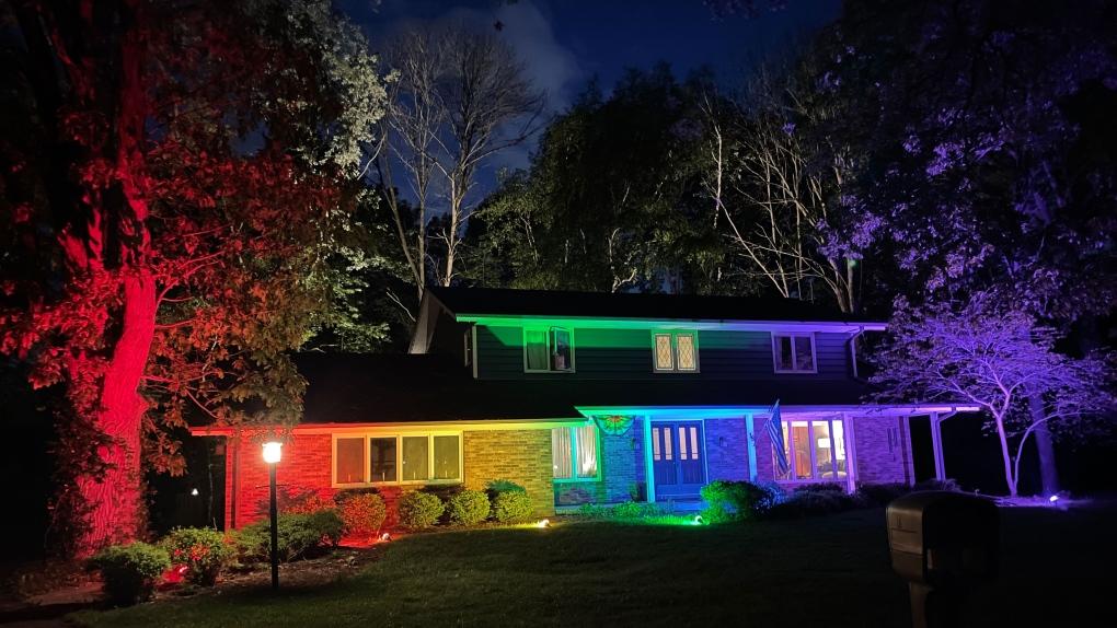 Pride Flag Home
