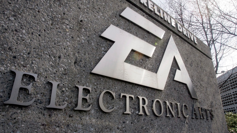 An exterior view of Electronic Arts Inc. headquarters in Redwood City, Calif. is shown Feb. 25, 2008. THE CANADIAN PRESS/AP-Paul Sakuma
