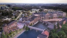Rendering of the proposed development of the Elora Mill. (Supplied by Pearle Hospitality)