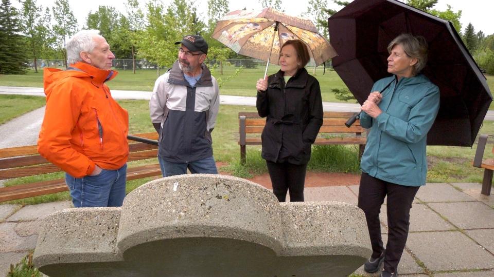 Elbow River Pathway anniversary Calgary