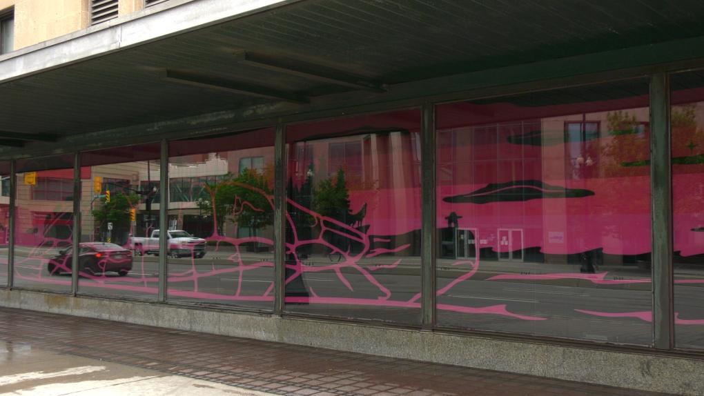 Bay art downtown