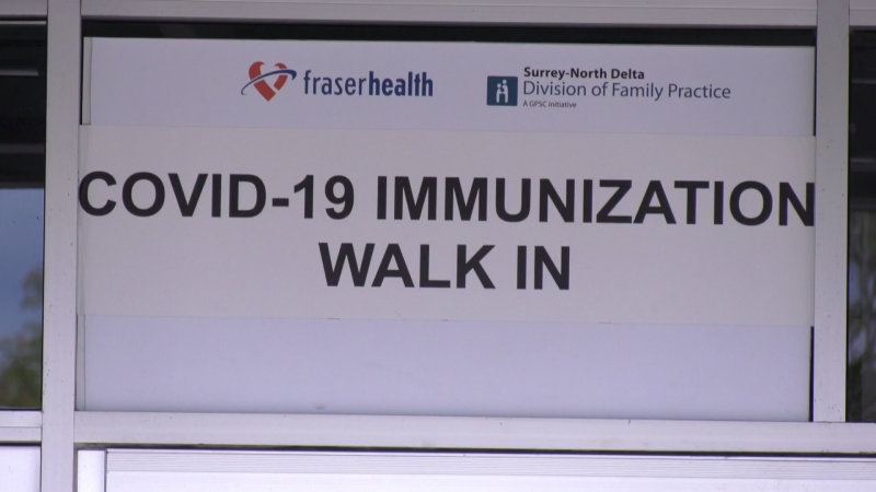 Fraser Health is hoping to reach more people who haven't had their first vaccine yet by offering more accessible clinics with same-day shots.