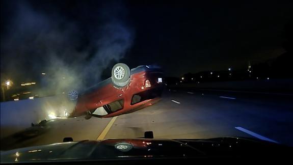 Arkansas state trooper crash