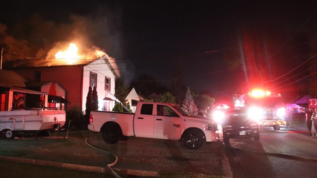Arthur Road Fire