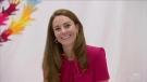 Duchess of Cambridge reacts to niece's birth