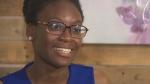 Verda Tetteh in Fitchburg, Massachusetts. (Source: WBZ via CNN)