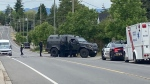 Police and first responders are seen on Tattersall Drive on June 11: (CTV News)