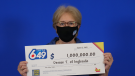 Denise Toman of Ingleside won the guaranteed $1 million prize in the Lotto 6/49 draw on May 26. (Photo courtesy: OLG)