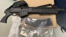 RCMP say they have seized guns and drugs from a series of investigations in the La Ronge area. (RCMP)