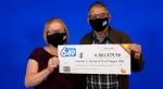 Niagara Falls couple Lourdes Alvarez and Jaime Rosito won $11.4 million in the Lotto 6/49 draw. (Supplied)