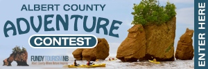 Albert County Adventure Contest Button