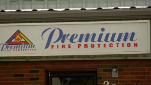 Premium Fire Protection Ltd., based in Okotoks, Alta., has been found guilty of 15 fire code violations after using unqualified staff in installations. (file)