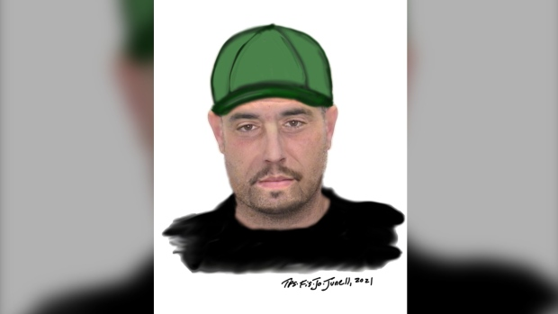 Police in Halton Region have released a composite sketch of a suspect they believe was involved in an assault last weekend. (Handout)