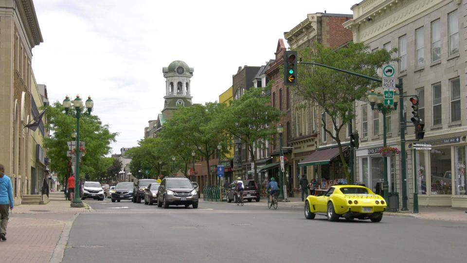 Downtown Brockville