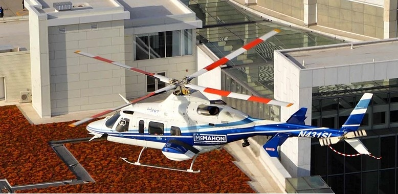 McMahon Helicopter. (Courtesy McMahon Helicopter Services Inc.)
