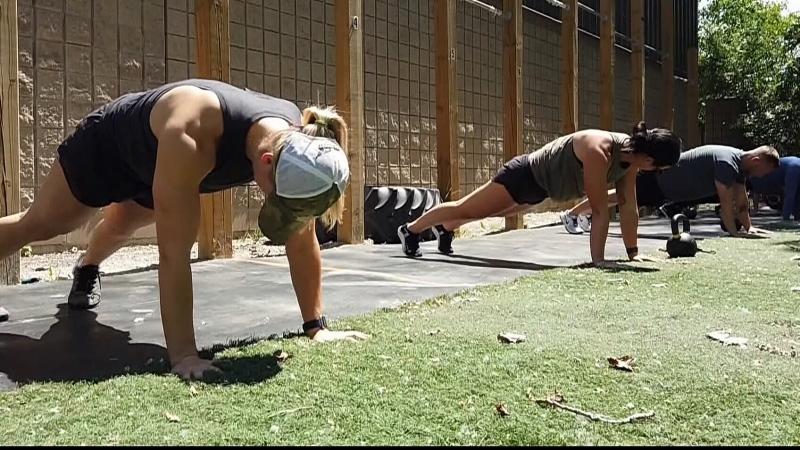 Outdoor sports training returns