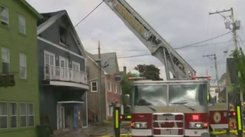 Fire at historic N.S. theatre