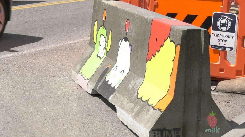 art, barriers, beltline, mural, urban, project