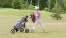 Golf is one of the few sports people in Ontario can play under the provincial government's COVID-19 restrictions, and soaring membership at northern courses show how many people are taking advantage. (Jaime McKee/CTV News)