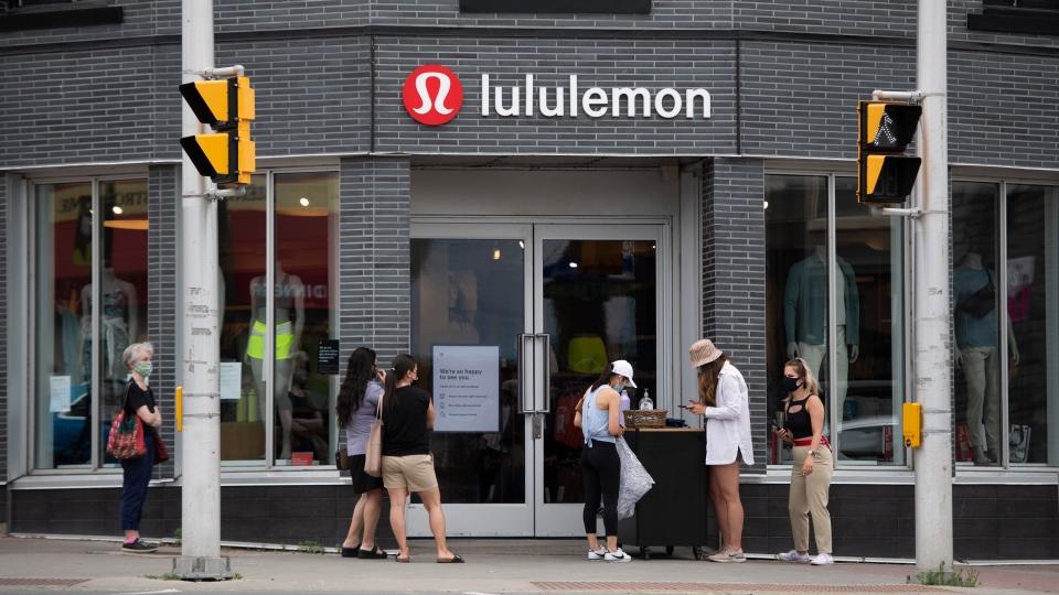 Lululemon Athletica store in Ottawa