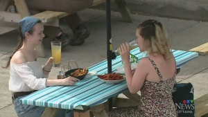 Patios prove popular as Ottawa begins to reopen
