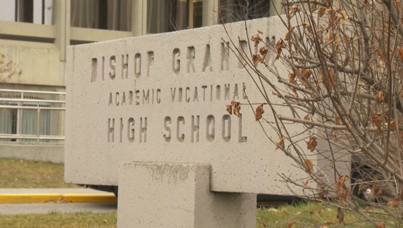 The Calgary Catholic School District says it is still considering feedback on the potential renaming of Bishop Grandin High School.