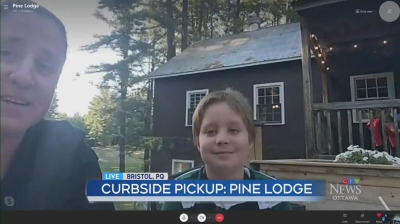 Curbside Pickup: Pine Lodge