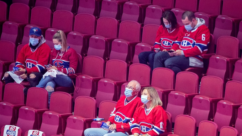 fans at bell centre montreal