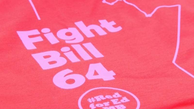 Red shirt campaign looks to stop Bill 64