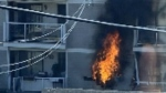 Gas leak explosion in central north Edmonton