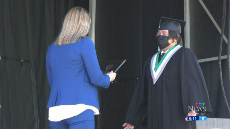 Grad is back for one Edmonton class of 2021