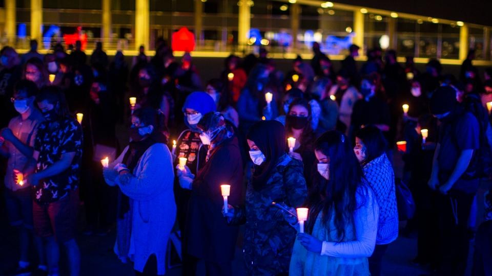 Vigil for London, Ont. family