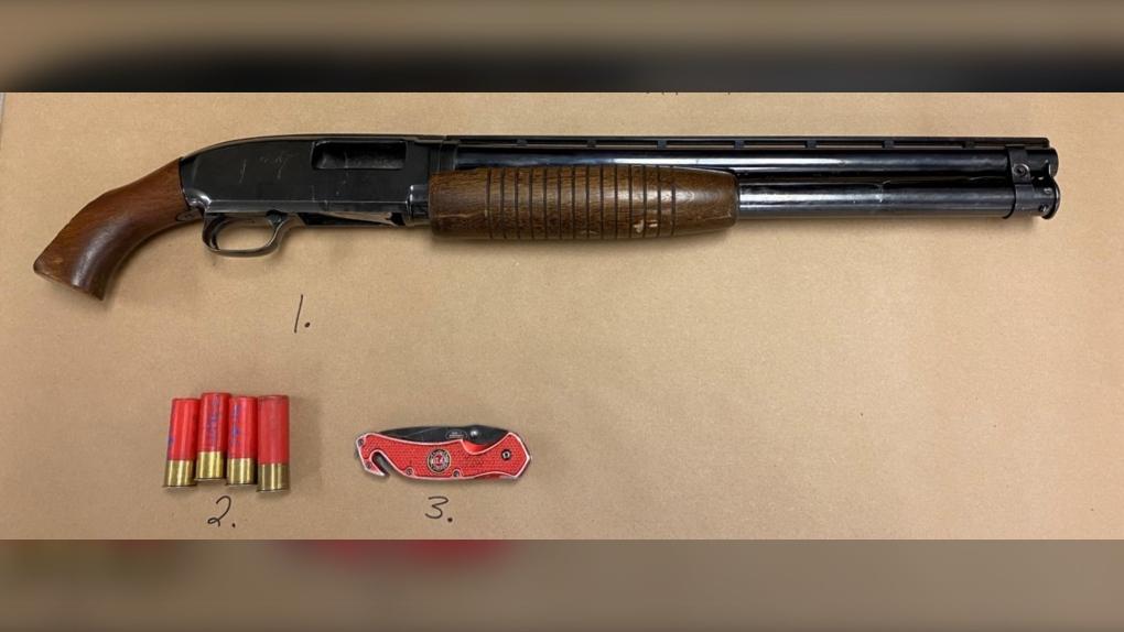 Saskatoon Police seize sawed-off shotgun