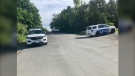 In a tweet just after 8:00 a.m. on June 12, the Greater Sudbury Police Service (GSPS) confirmed there was a heavy police presence at the intersection of Northway Avenue and Lasalle Boulevard. June 12/21 (Alana Everson/CTV News Northern Ontario)