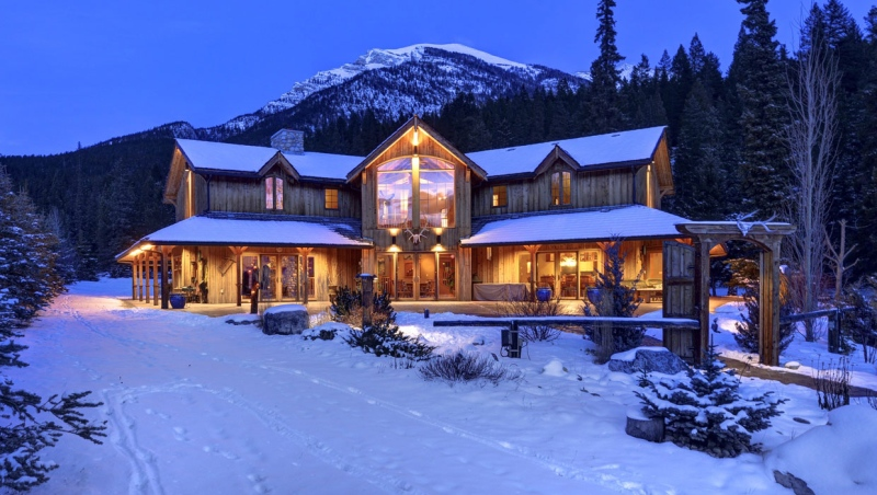 This luxury property in Canmore was one of approximately 20 million-dollar homes recently sold in the mountain community. (Karen Fawcett/RE/MAX Professionals)