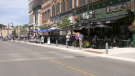 Barrie's BIA has launched the Open Air Dunlop program for the second year in a row as of June 12, 2021 (Katelyn Wilson/CTV News Barrie)