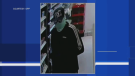Police have released an image of a suspect in an armed robbery at a business in Drumbo. (Source: OPP) (June 11, 2021)