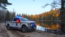 Ministry of Natural Resources and Forestry enforcement truck. (courtesy Ministry of Natural Resources & Forestry)