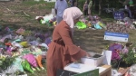 Thousands attended the funeral of the Afzaal family Saturday June 12, 2021 (Brent Lale / CTV News)