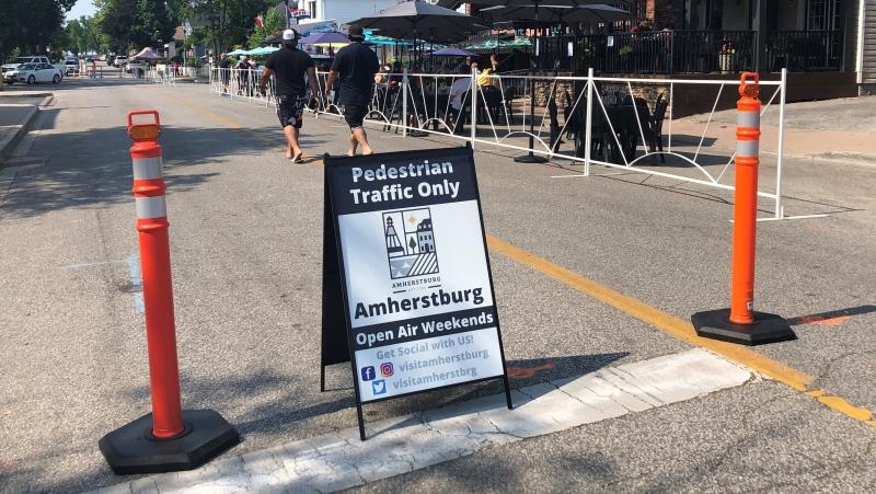 Open Air Weekends returned to Amherstburg on Saturday June 12, 2021 (Alana Hadadean / CTV News)