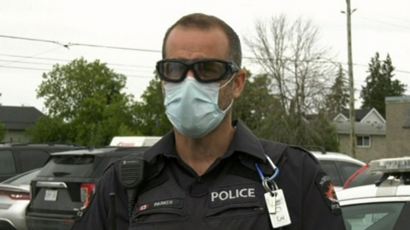 North Bay police officer gets provincial honours