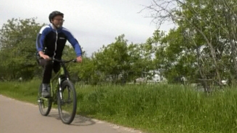Timmins man takes on 'Great Cycle Challenge'