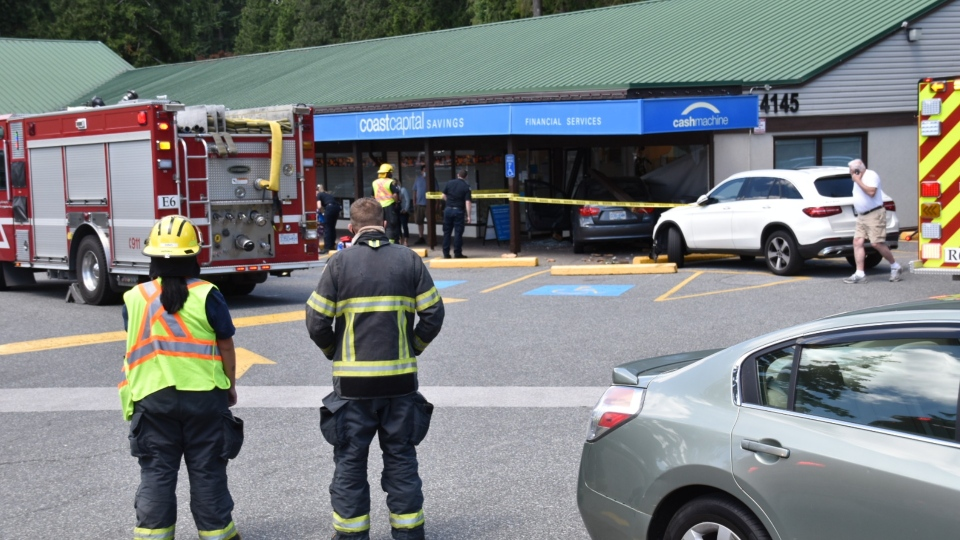 Langley bank crash