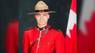 Saskatchewan RCMP identified 26-year-old Shelby Patton as the officer who died while on duty on June 12, 2021. (Supplied: Saskatchewan RCMP)