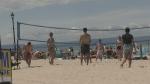Busy scene at Wasaga Beach