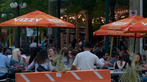 Somerset Street will be closed to traffic between Bank Street and O'Connor Street on weekends this summer. (Jackie Perez/CTV News Ottawa)
