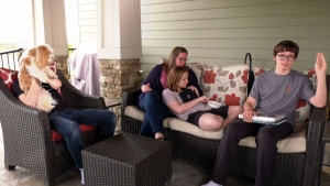 Sheri Radoux is the mother of three teenagers, two of which have autism. She says that her family used to live in the U.S. where they had better access to therapies and have decided to move back after what she described as a shameful and frustrating experience in Canada that's left her family feeling hopeless.