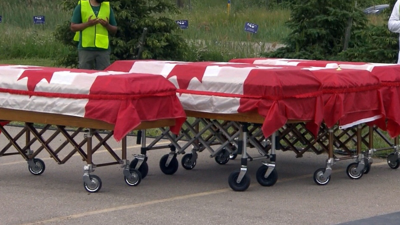 London funeral