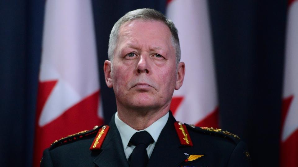 Chief of Defence Staff Jonathan Vance